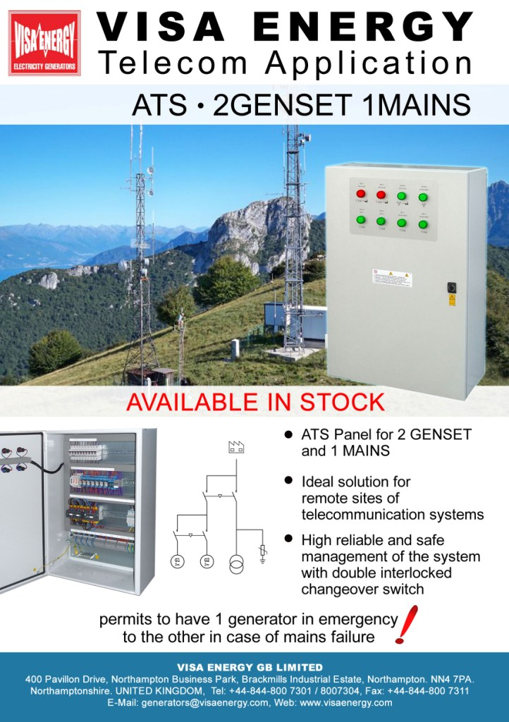 Telecom Panel For Generating Sets
